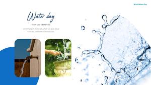 세계 물의 날 파워포인트 템플릿 #11