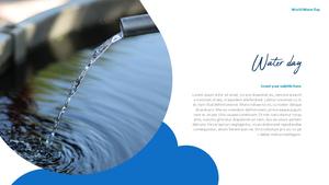 세계 물의 날 파워포인트 템플릿 #12