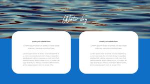 세계 물의 날 파워포인트 템플릿 #16