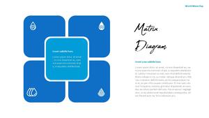 세계 물의 날 파워포인트 템플릿 #19