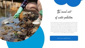 세계 물의 날 파워포인트 템플릿 #21