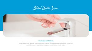 세계 물의 날 파워포인트 템플릿 #28