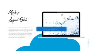 세계 물의 날 파워포인트 템플릿 #39