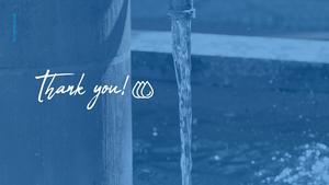 세계 물의 날 파워포인트 템플릿 #40
