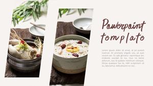 한국 전통 음식(Korean food) 와이드형 피피티 템플릿 #15