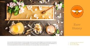 꿀의 효능, 양봉 (Honey) 파워포인트 16:9