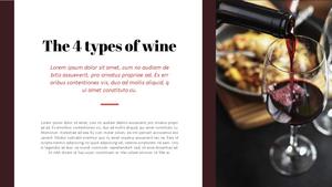 와인 (WINE) 프레젠테이션 템플릿