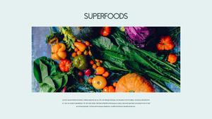 슈퍼푸드 Superfoods 파워포인트