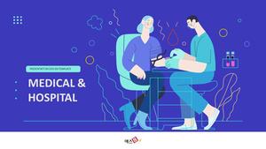 병원, 의료 (Medical and Hospital) PPT template