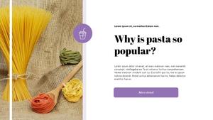 파스타 (Pasta) 파워포인트 Presentation