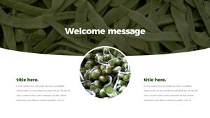 Green Bean 프레젠테이션 템플릿