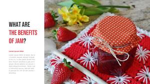 fruit jam (과일잼) PPT 템플릿 16:9