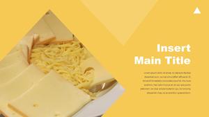 Cheese 치즈 파워포인트 template