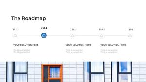 부동산 배경(건물, 집, 빌딩) 파워포인트 배경화면 템플릿 #10