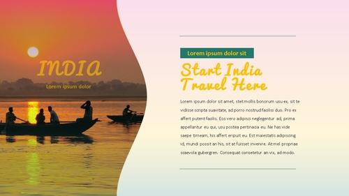 인도 여행 (India) 프레젠테이션 - 섬네일 4page