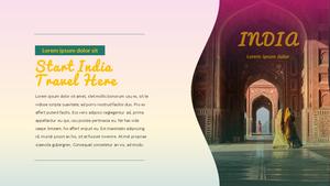 인도 여행 (India) 프레젠테이션 #5