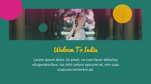 인도 여행 (India) 프레젠테이션 - 섬네일 6page