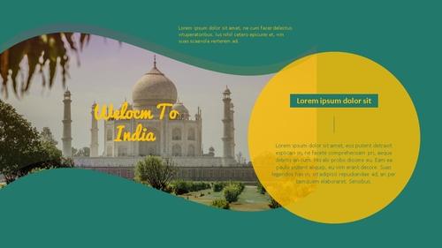 인도 여행 (India) 프레젠테이션 - 섬네일 8page