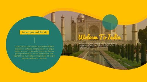 인도 여행 (India) 프레젠테이션 - 섬네일 9page