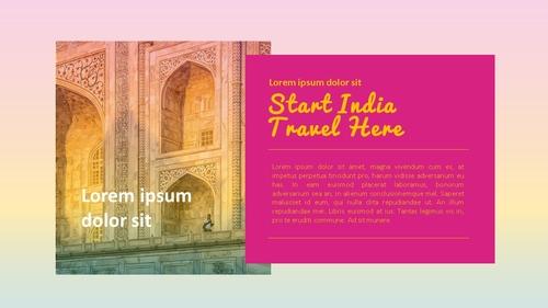 인도 여행 (India) 프레젠테이션 - 섬네일 12page