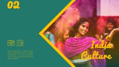 인도 여행 (India) 프레젠테이션 - 섬네일 13page