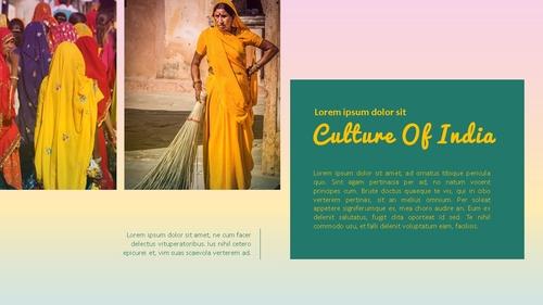 인도 여행 (India) 프레젠테이션 - 섬네일 19page