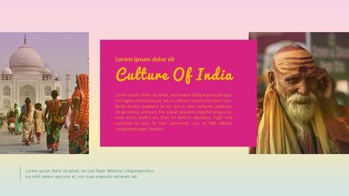 인도 여행 (India) 프레젠테이션 - 섬네일 20page