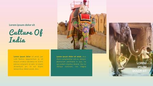 인도 여행 (India) 프레젠테이션 - 섬네일 21page