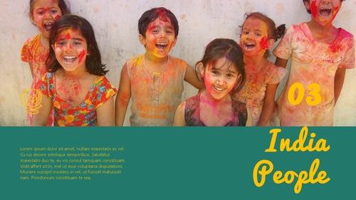 인도 여행 (India) 프레젠테이션 - 섬네일 23page