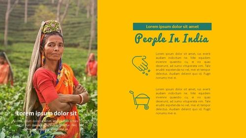 인도 여행 (India) 프레젠테이션 - 섬네일 25page