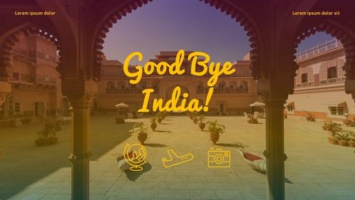 인도 여행 (India) 프레젠테이션 - 섬네일 40page