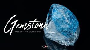 아름다운 보석 (Gemstone) 디자인 템플릿