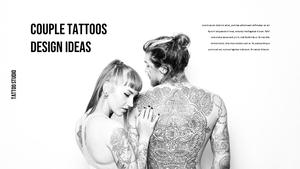 타투 스튜디오 (Tattoo Studio) ppt 템플릿
