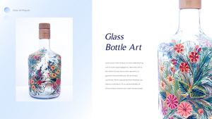 Glass Craft 유리공예 파워포인트 배경