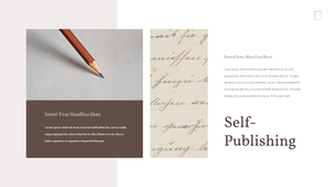 Self Publishing (자가 출판) ppt