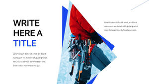 Ice Climbing 빙벽 등반 프레젠테이션 PPT
