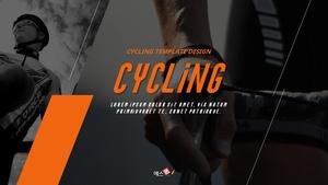 Cycling 자전거 프레젠테이션 템플릿