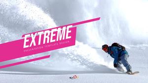 Extreme (익스트림) 파워포인트 와이드형
