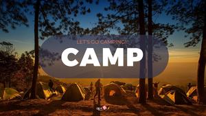 감성 캠핑 (Camping) PPT 16:9