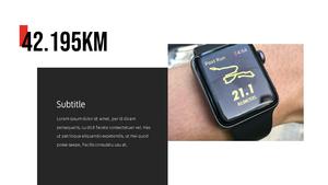 마라톤 (Marathon) PPT 프레젠테이션