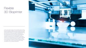 3D 바이오프린터 (의학) 와이드 템플릿