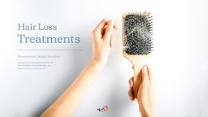 Hair Loss Treatments (탈모 치료) PPT 템플릿