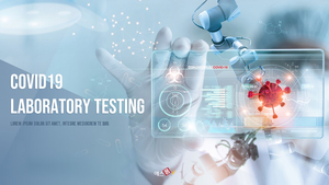 코로나 신약 테스트 COVID19 Laboratory Testing PPT