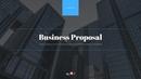 사업 제안서 피치덱 프레젠테이션 템플릿