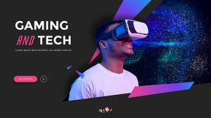 Gaming & Tech 피치덱 PPT