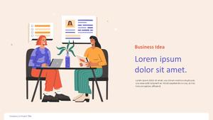 Creative Business 일러스트 피치덱