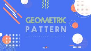 추상 패턴 디자인 PPT 배경템플릿