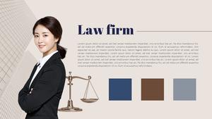 법률 사무소 (로펌) PPT 표지