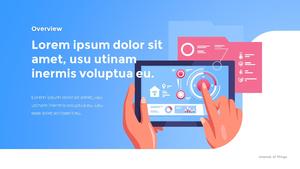 IoT 서비스 피치덱 template