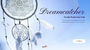 드림캐쳐 (Dreamcatcher) 파워포인트 template